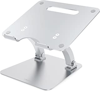 Desire2 Laptop Stand View My Screen Supreme Riser Dual Pivot Adjutsable Riser Desk Stand Holder for LAPTOPS MACBOOKS to Improve Posture and Viewing Position