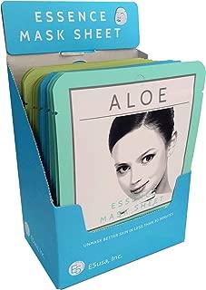 E5 Sheet Mask - Blue Set (Aloe, Collagen, Green Tea) 24 pcs
