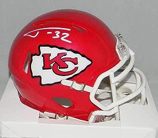 Tyrann Mathieu Autographed Mini Helmet - Kansas City Chiefs Speed - JSA Certified - Autographed NFL Mini Helmets