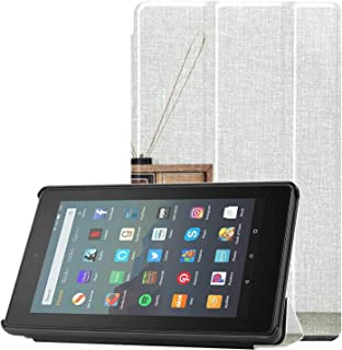 Etui na Kindle Fire 7 7. generacji retro vintage pomarańczowy TV Fire 7 pokrowce i pokrowce do tabletów Fire 7 (9. generac...