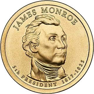 2008 D Monroe Presidential Dollar Choice Uncirculated
