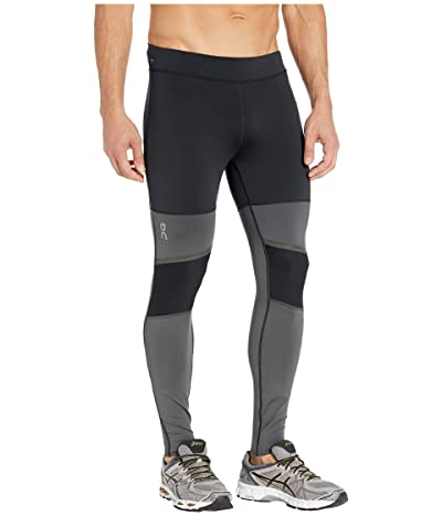 On Tights Long (Black/Shadow) Men