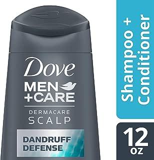 DOVE HAIR Men+Care Dermacare Scalp Dandruff Defense 2 In 1 Shampoo & Conditioner, 12 Ounce