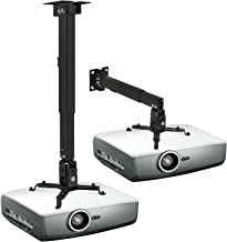 Mount-It! Wall or Ceiling Projector Mount with Universal LCD/DLP Mounting for Epson, Optoma, Benq, ViewSonic Projectors, 4...