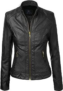 Pure Lambskin Leather Jackets for Women – Women Long Body Leather Jacket in Black