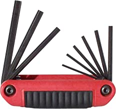 product image for EKLIND 25912 Ergo-Fold Fold-up Hex Key allen wrench - 9pc set SAE Inch Sizes .050-3/16