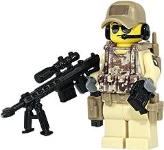 Modern Brick Warfare Army Airborne Ranger Sniper Custom Minifigure