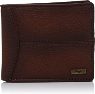 Baggit Men's Synthetic Wallet (Tan) (Nation Y G Z)