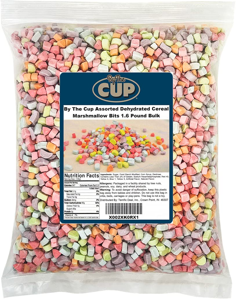 By Mail order The Cup Assorted Dehydrated Bits Pound Cereal 1.6 Max 68% OFF Marshmallow