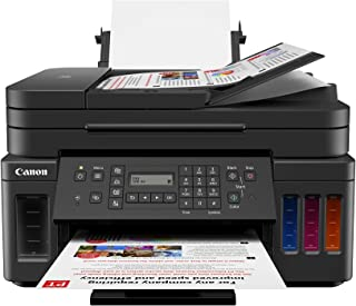 Canon PIXMA G7020 Wireless All-in-One Supertank Printer, Copier, Scan and Fax (Renewed)