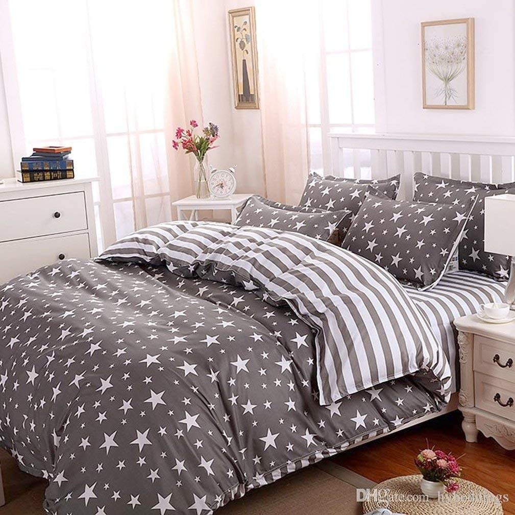 Galaxy Space Star Print Duvet Sales of SALE items from new works Deluxe Cover and Set Ful Twin Pillowcases