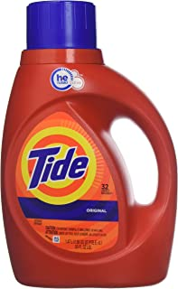 Tide Original Scent Liquid Laundry Detergent, 50 Fl Oz, 3 Count