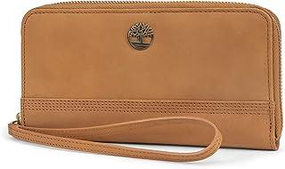 Timberland Damen Leather RFID Zip Around Wallet Clutch with Wristlet Strap Armband, Einheitsgröße