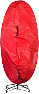 Elf Stor Premium Christmas Tree Cover Holiday Red Large Size for For 7.5 Ft Tree