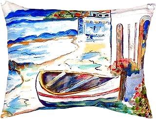 """Betsy Drake NC961 Sicilian Shore No Cord Pillow,,16"""" X20"""""""