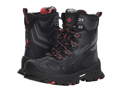 Columbia Bugaboot Plus IV Omni-Heat (Black/Sunset Red) Women