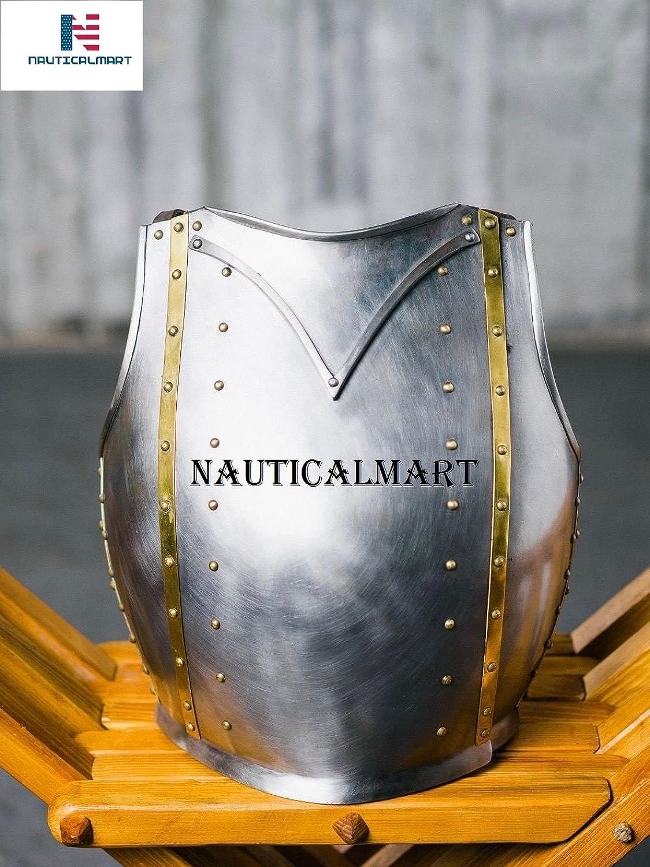 NAUTICALMART Functional Medieval Churburg Type Armor Breastplate
