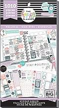 me & my BIG ideas PPSV-111-3048 The Happy Planner Sticker Value Pack-Wellness, 1010/Pkg, Multi