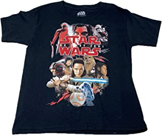 Disney Star Wars T Shirt, Children's Unisex Black Classic Graphic Tee