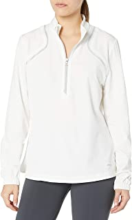 Cutter & Buck Women's Cb Weathertec Half-Zip Chirsty Windshirt