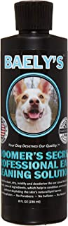 Baely's Paw Shield Dog Ear Cleaner Wash Solution   Alcohol-Free & Gentle for Pain-Free Cleaning   Good Ear Hygiene Prevent...
