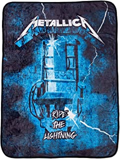 Metallica The Master Collection Ride The Lightning Fleece Blanket