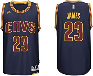 adidas Lebron James Men's Navy Cleveland Cavaliers Swingman Jersey