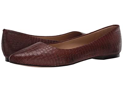 Trotters Estee (Brown Croco) Women