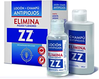 kit zz antipìojos champu 125ml + locion 100ml