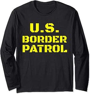 Halloween Immigration Customs Enforcement Border Patrol Long Sleeve T-Shirt