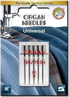 ORGAN NEEDLES Organo Aghi # 80//12/Jersey x 5/Aghi
