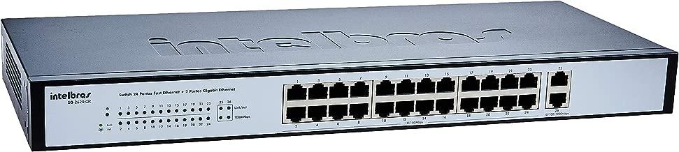 Switch Giga Intelbras Inet 4005019 Sg2620Qr 24 Port 10/100+2