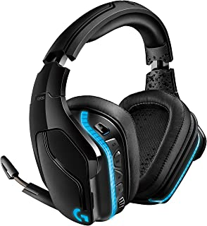 Logitech G935 Wireless Gaming Headset, 7.1 Surround Sound, DTS Headphone:X 2.0, 50mm Pro-G Drivers, 2.4 GHz, Flip-to-Mute ...
