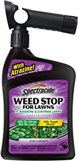 Spectracide Weed Stop For Lawns For St. Augustine & Centipede Lawns Concentrate, Ready-to-Spray, 32-Ounce, 6-Pack