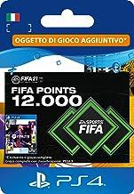 FIFA 21 Ultimate Team 12000 FIFA Points | Codice download per PS4 (incl. upgrade gratuito a PS5)- Account italiano