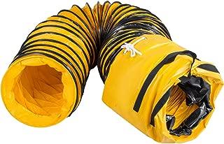 Mophorn Tubo de Manguera de Ventilación Manguera Flexible de PVC 7.6 m para Extractor de 20.3 cm con Bolsa de Almacenamiento