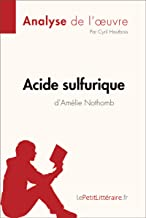 acide sulfurique amelie nothomb