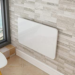 Lidengdeng Table Murale Pliante, Petite Table de Cuisine Rabattable Etabli Mural, étagère de Cuisine à Domicile, Pliable B...