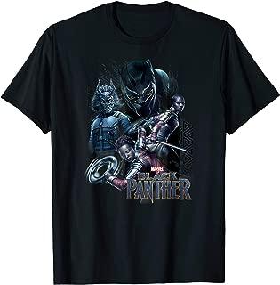 Black Panther Movie Okoye Nakia Group T-Shirt