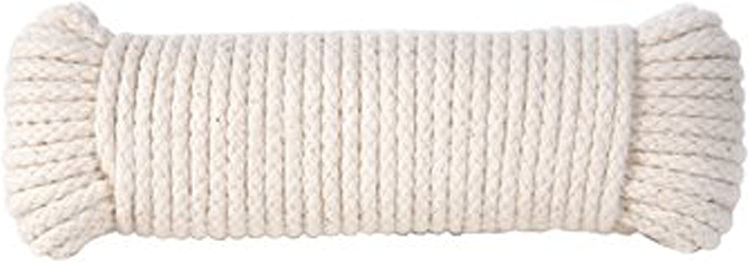 2 mm = 564 COTTON BRAIDED Cord = 1 Spool = 110 Yards = 100 Meters Natural and Elegant Wedding CORD Natural soft White Cord Kitchen Rope