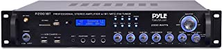 Multi Channel Bluetooth Preamplifier Receiver - 2000 Watt Audio Home Speaker Sound Stereo Receiver W/ Radio, USB, Headphon...