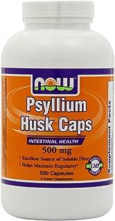 Psyllium Husk 500 mg - 500 Veg Capsules, Pack of 3, Total 1500 Capsules
