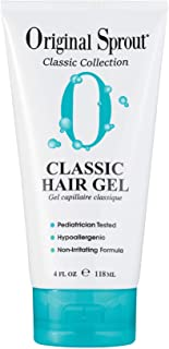 Original Sprout Natural Hair Gel. Anti-Frizz Hair Gel. All Natural Hair Care for Babies, Kids, and Adults. 4 oz. (Packagin...