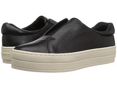 J/Slides Heidi (Black Leather) Women