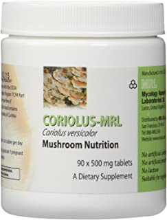 Mycology Research Labs - Coriolus Versicolor-MRL 500 mg 90 tabs