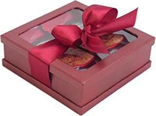 Hot Cocoa Drink Mix Gift Set - Ghirardelli Hot Cocoa Gift - Hot Cocoa Gift Set - Coffee Gifts - Best Gift for Coworkers, Friends, Boss Etc.(Burgundy)