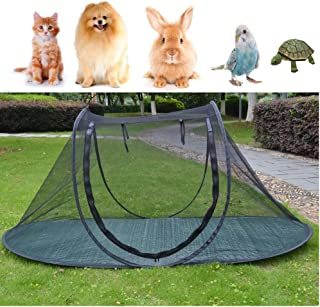 Pet Camping Tent Playpens Cage for Dogs Cats - Birds Parrots Playpens House Small Animal Indoor/Outdoor Play Tent Shelter Breathable Turtles Reptiles Cage
