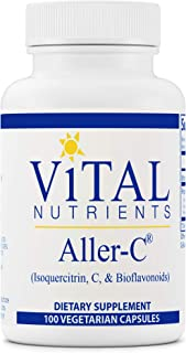 Sponsored Ad - Vital Nutrients - Aller-C (Isoquercitrin, C, and Bioflavonoids) - Respiratory and Sinus Support - 100 Veget...
