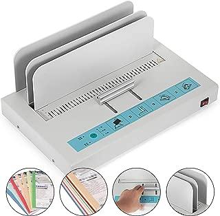 Mophorn Thermal Binding Machine 1-50mm Thickness Universal Thermal Binding Machine Infrared Light Detecting Hot Melt Machine Document Invoice Folder