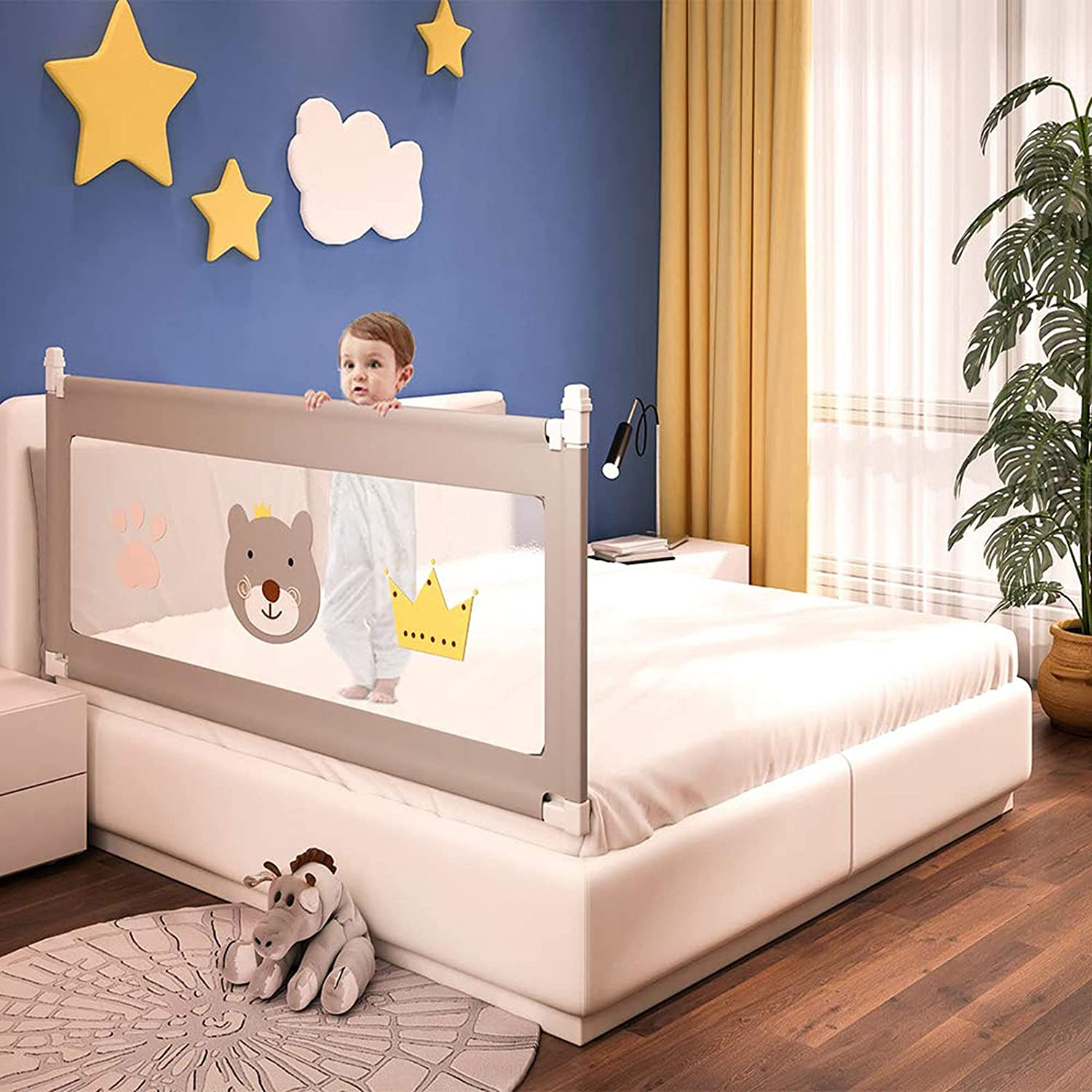 Seattle Mall ZWJABYY Bed Rails Toddlers-Safety Toddlers-Tod for Charlotte Mall